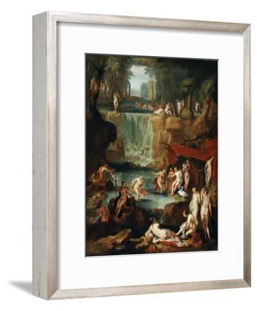 Diana and Actaeon, 1743-Georg Kaspar von Prenner-Framed Giclee Print