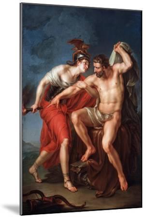The Self-Immolation of Hercules, 1782-Ivan Akimovich Akimov-Mounted Giclee Print