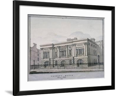 Trinity House, Trinity Square, City of London, 1810--Framed Giclee Print
