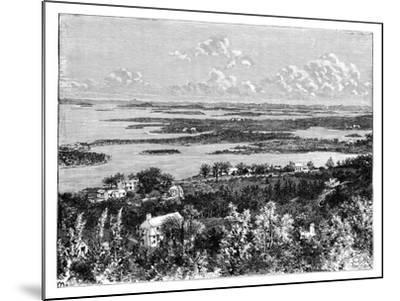 View Taken from Gibb's Hill, Bermudas, C1890--Mounted Giclee Print