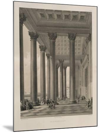 The North Portal of the Saint Isaac's Cathedral, 1845-Auguste de Montferrand-Mounted Giclee Print