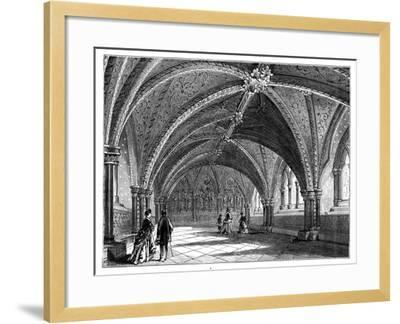 St Stephen's Crypt, Westminster Palace, London, C1888--Framed Giclee Print
