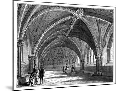 St Stephen's Crypt, Westminster Palace, London, C1888--Mounted Giclee Print
