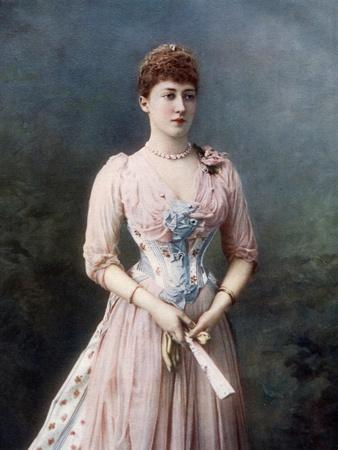 Princess Louise, Late 19th-Early 20th Century-W&d Downey-Framed Giclee Print