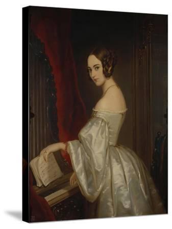 Portrait of Princess Maria Ivanovna Kochubey, Née Baryatinskaya (1818-184)-Christina Robertson-Stretched Canvas Print