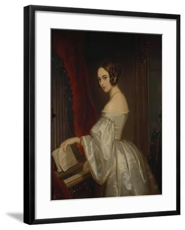 Portrait of Princess Maria Ivanovna Kochubey, Née Baryatinskaya (1818-184)-Christina Robertson-Framed Giclee Print