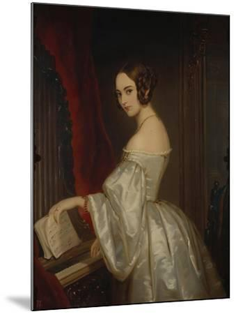 Portrait of Princess Maria Ivanovna Kochubey, Née Baryatinskaya (1818-184)-Christina Robertson-Mounted Giclee Print