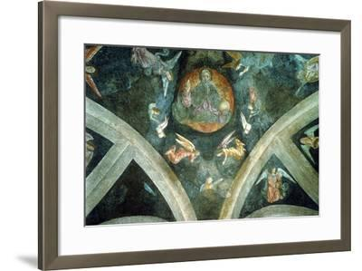 The Eternal Father, Early 16th Century--Framed Giclee Print