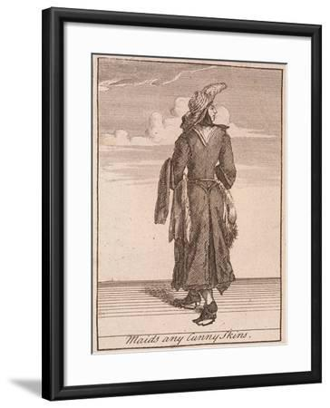 Maids Any Cunny Skins, Cries of London-Marcellus Laroon-Framed Giclee Print