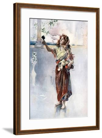 Ellaline Terriss in Bluebell in Fairyland, C1902- Ellis & Walery-Framed Giclee Print