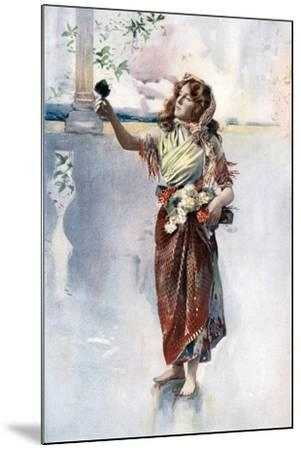 Ellaline Terriss in Bluebell in Fairyland, C1902- Ellis & Walery-Mounted Giclee Print
