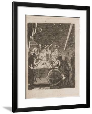Observing the Heavens in the Age of Galileo, 1681-Pierre Petit-Framed Giclee Print