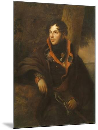 Portrait of Count Nikolay Mikhailovich Kamensky (1776-181), 1810-Friedrich Georg Weitsch-Mounted Giclee Print