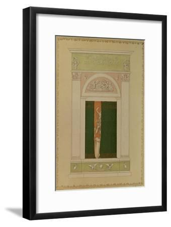 Playbill Cover for Contemporary Ballet, 1902-L?on Bakst-Framed Giclee Print
