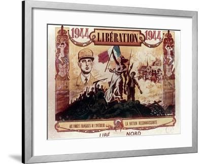 World War 2: Liberation of France, 1944--Framed Giclee Print