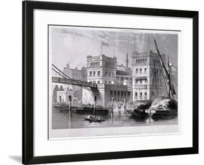 Hungerford Market, Westminster, London, C1847--Framed Giclee Print