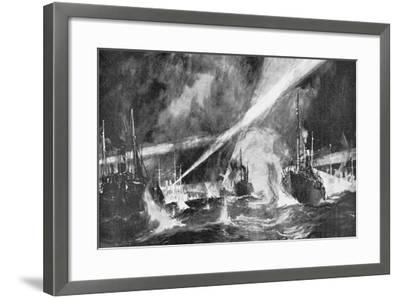 The Dogger Bank Incident, Russo-Japanese War, 1904-5--Framed Giclee Print