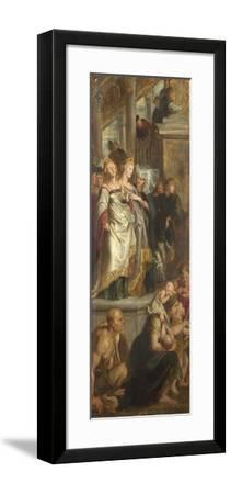Three Female Witnesses. Sketch for High Altarpiece, St Bavo, Ghent, 1612-Peter Paul Rubens-Framed Giclee Print