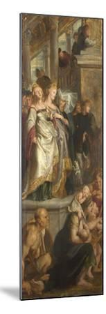 Three Female Witnesses. Sketch for High Altarpiece, St Bavo, Ghent, 1612-Peter Paul Rubens-Mounted Giclee Print