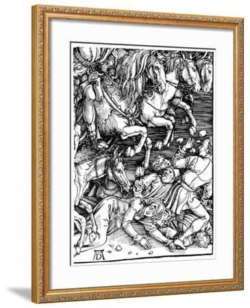 Detail from the 'Apocalypse, 1498--Framed Giclee Print
