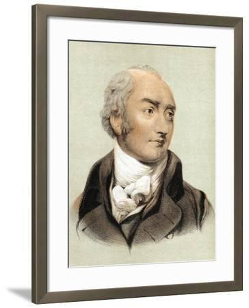 George Canning (1770-182), English Statesman and Primeminister from 1827--Framed Giclee Print