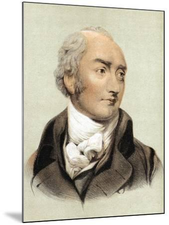 George Canning (1770-182), English Statesman and Primeminister from 1827--Mounted Giclee Print