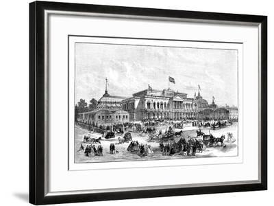 The International Exhibition, Dublin, Ireland, 1865--Framed Giclee Print