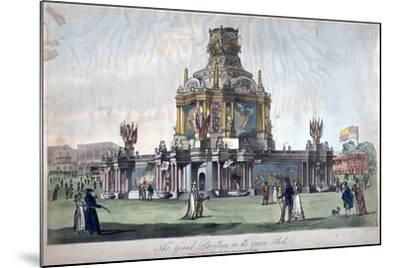 Temple of Concord, Green Park, Westminster, London, 1814--Mounted Giclee Print