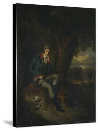 Portrait of Count Nikita Petrovich Panin (1770-183) in Hunting Dress-Ludwig Guttenbrunn-Stretched Canvas Print