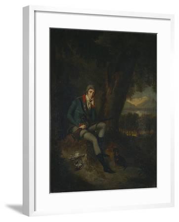 Portrait of Count Nikita Petrovich Panin (1770-183) in Hunting Dress-Ludwig Guttenbrunn-Framed Giclee Print