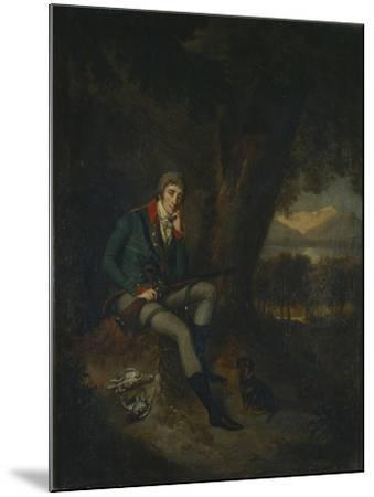 Portrait of Count Nikita Petrovich Panin (1770-183) in Hunting Dress-Ludwig Guttenbrunn-Mounted Giclee Print