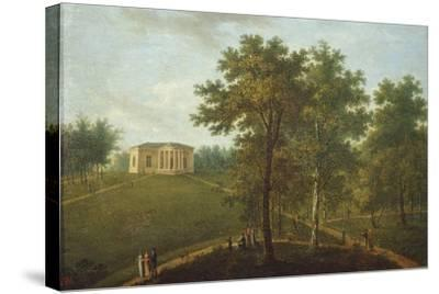 Temple of Truth, View in the Park of Kurakin Estate Nadezhdino, End 1790s-Vasily Petrovich Prichetnikov-Stretched Canvas Print