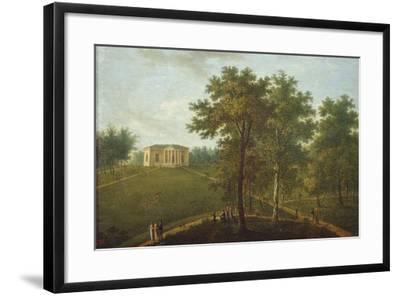 Temple of Truth, View in the Park of Kurakin Estate Nadezhdino, End 1790s-Vasily Petrovich Prichetnikov-Framed Giclee Print