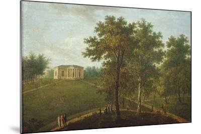 Temple of Truth, View in the Park of Kurakin Estate Nadezhdino, End 1790s-Vasily Petrovich Prichetnikov-Mounted Giclee Print