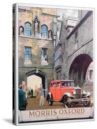 Advert for the Morris Oxford Motor Car, 1930--Stretched Canvas Print