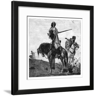 Bedouins at Prayer, C1890--Framed Giclee Print