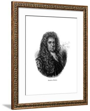 Samuel Pepys, English Diarist--Framed Giclee Print