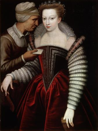 A Love Letter (Procures), Second Half of 16th Century--Framed Giclee Print