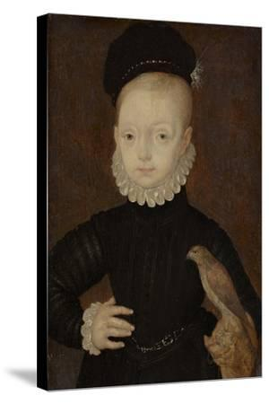 James VI and I (1566-162), King of Scotland, as Child, 1574-Arnold Bronckhorst-Stretched Canvas Print