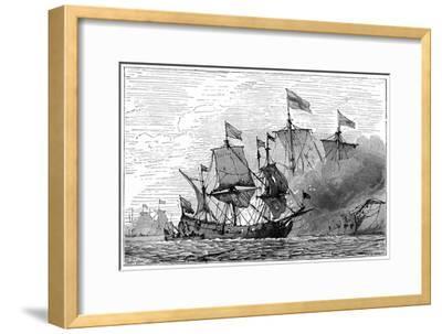 A French Brûlot (Fire Shi), 18th Century,--Framed Giclee Print