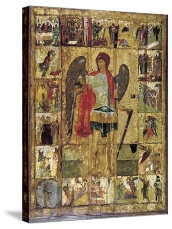Saint Michael the Archangel, C1410--Stretched Canvas Print