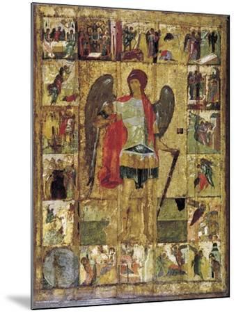 Saint Michael the Archangel, C1410--Mounted Giclee Print