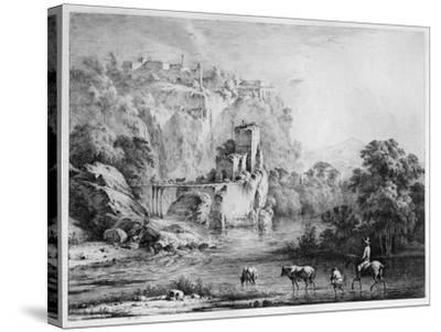 A Rider, 1800-Jean-Jacques Boissieu-Stretched Canvas Print