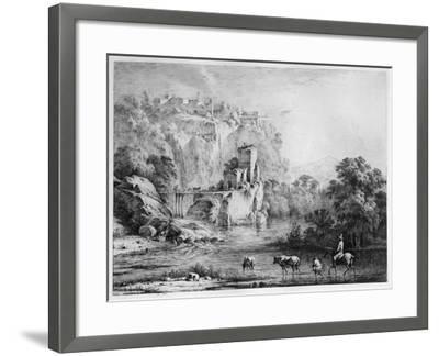 A Rider, 1800-Jean-Jacques Boissieu-Framed Giclee Print