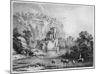 A Rider, 1800-Jean-Jacques Boissieu-Mounted Giclee Print