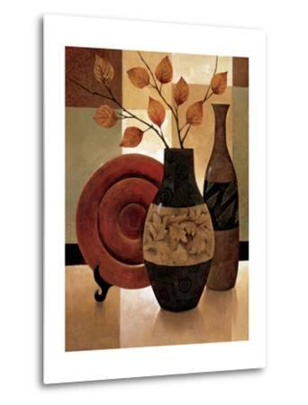 Nature's Patchwork I-Keith Mallett-Metal Print