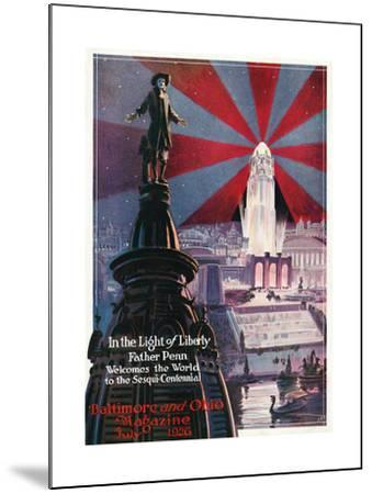 In the Light of Liberty 1926-Charles H. Dickson-Mounted Giclee Print