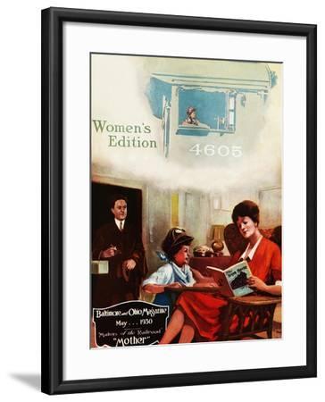Mother-Charles H. Dickson-Framed Giclee Print