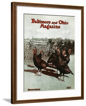 November 1922--Framed Giclee Print