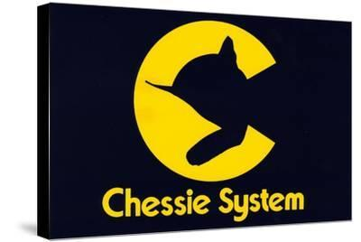 Chessie Systems Logo--Stretched Canvas Print